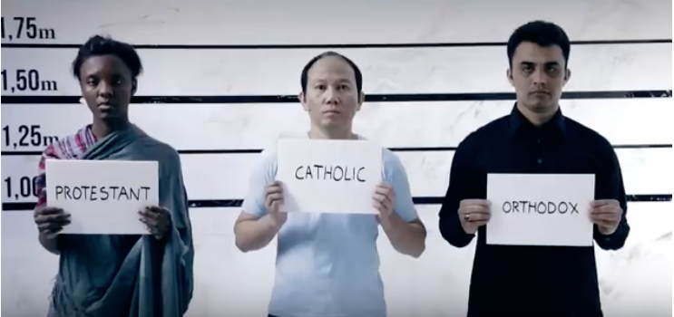 papez vydal video